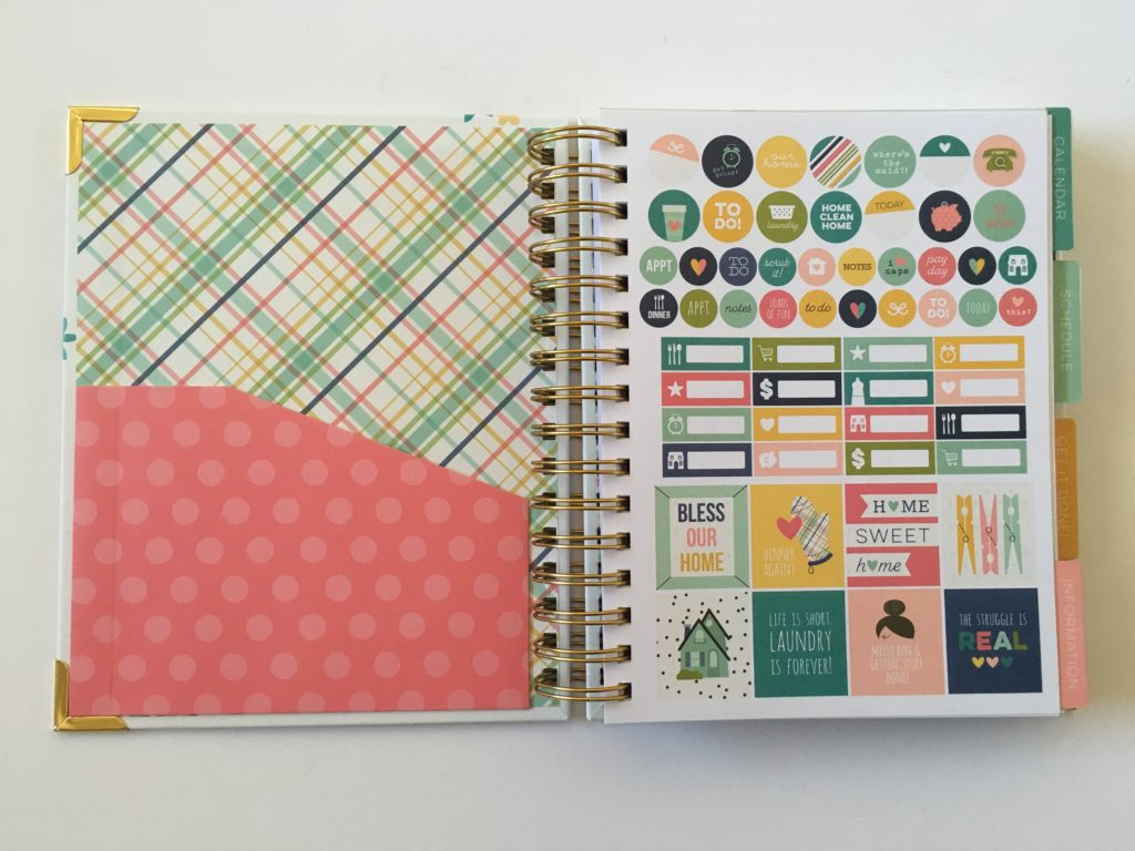 carpe diem home planner review planner sticker sheets functional