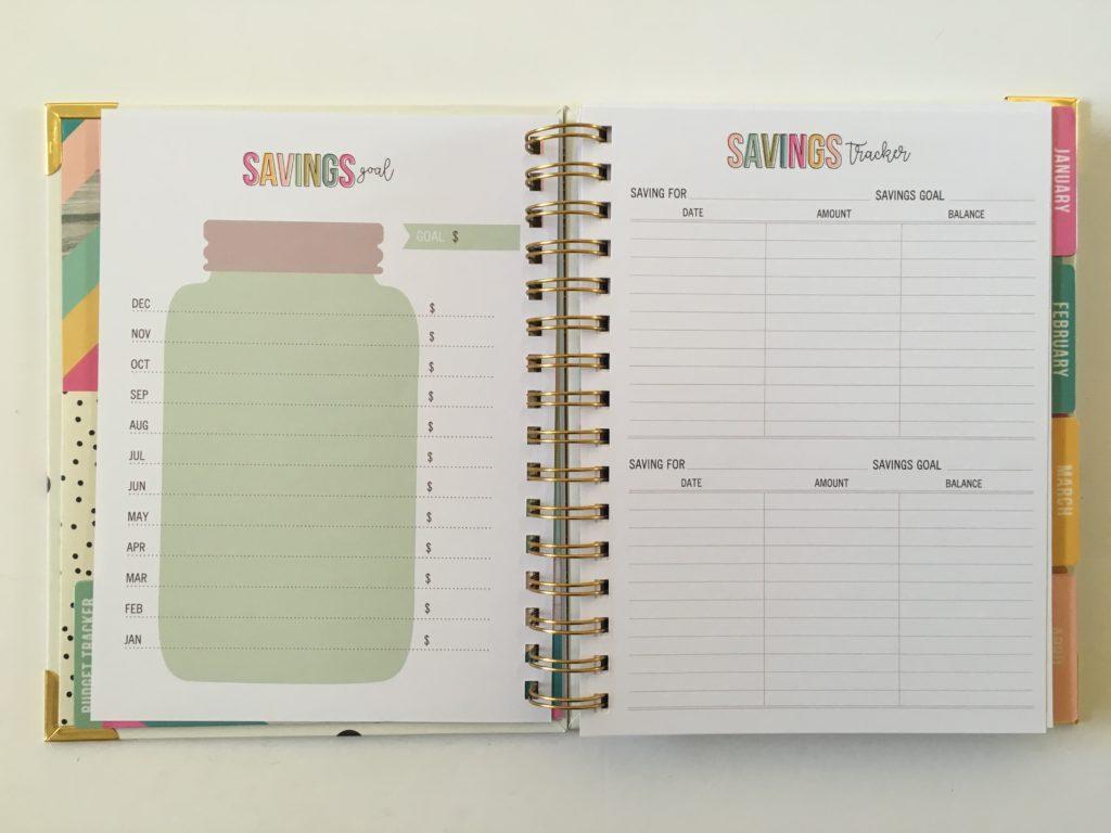 carpe diem savings tracker review pros and cons cheaper alternative to mambi happy planner budget planner