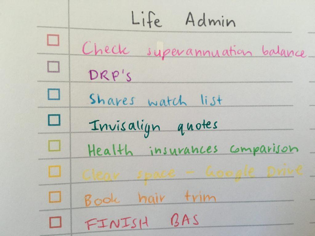 gel ballpoint fine tip marker felt pen difference rainbow checklist