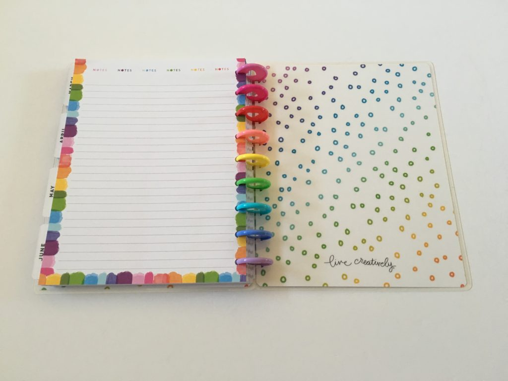 happy planner amy tangerine weekly planner vertical review