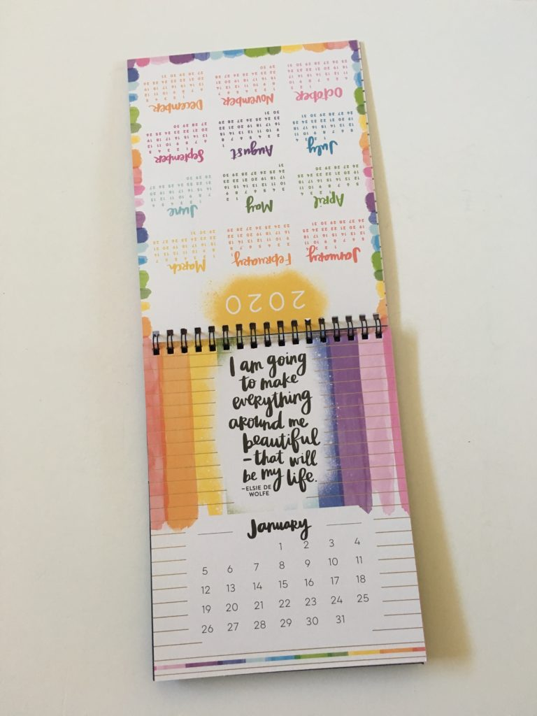 happy planner be happy box desk calendar