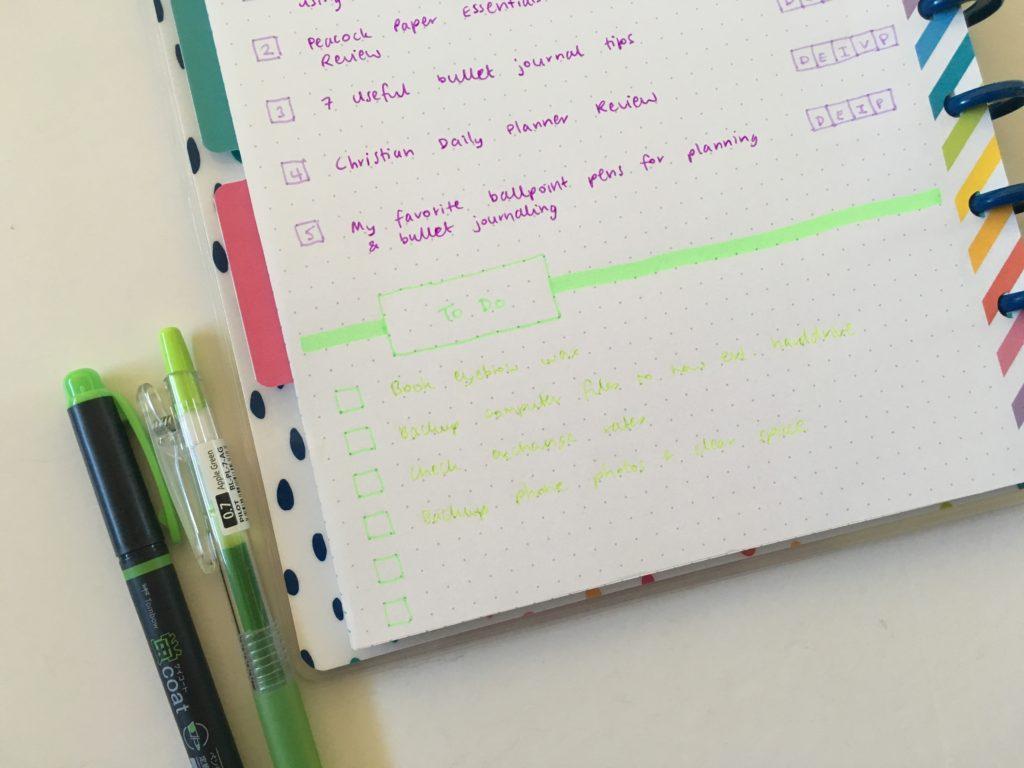 happy planner layout ideas diy bullet journal discbound notebook