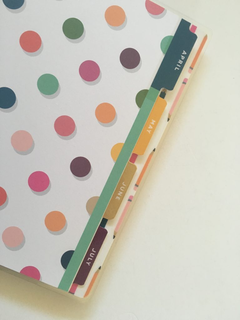 happy planner student edition planner tabs divider pages