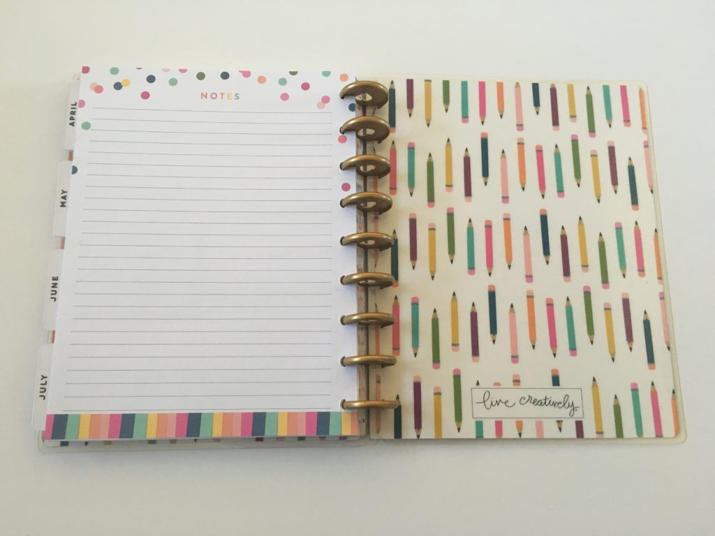 happy planner student edition pros and cons video flipthrough