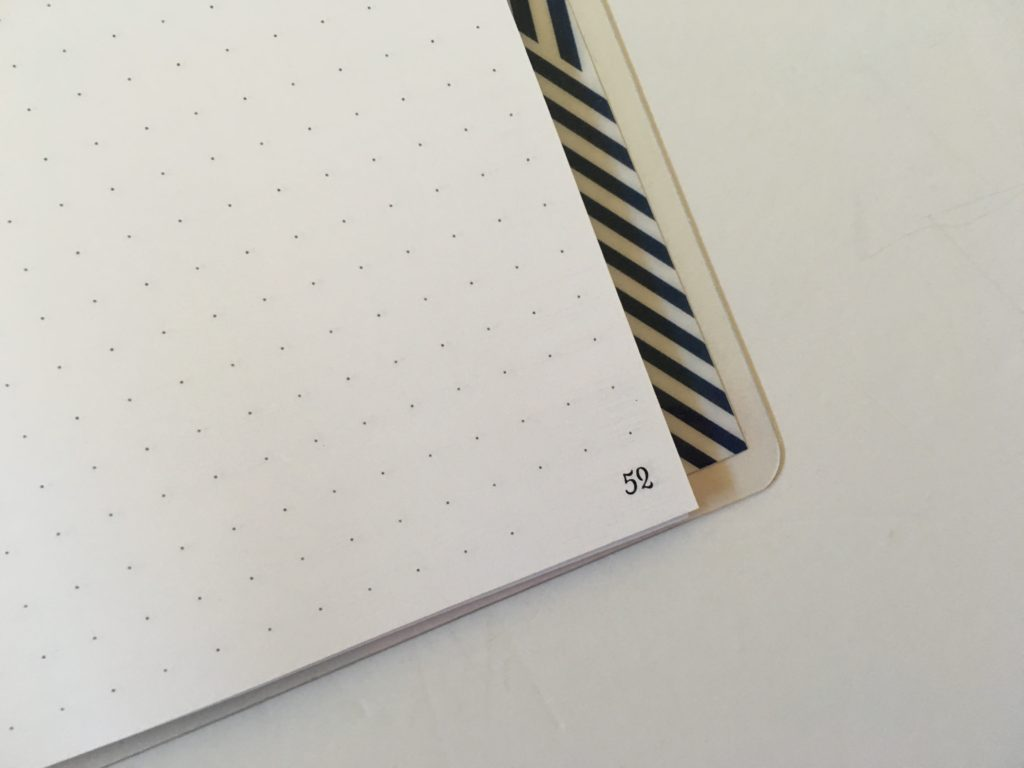 numbered dot grid notebook practical paper co pretty bright white paper usa company