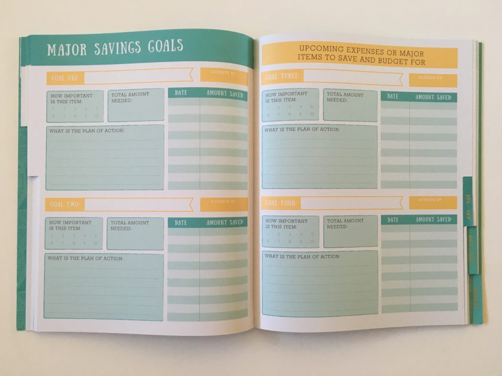 otto budget life planner monthly goals savings financial planner cheap affordable australia