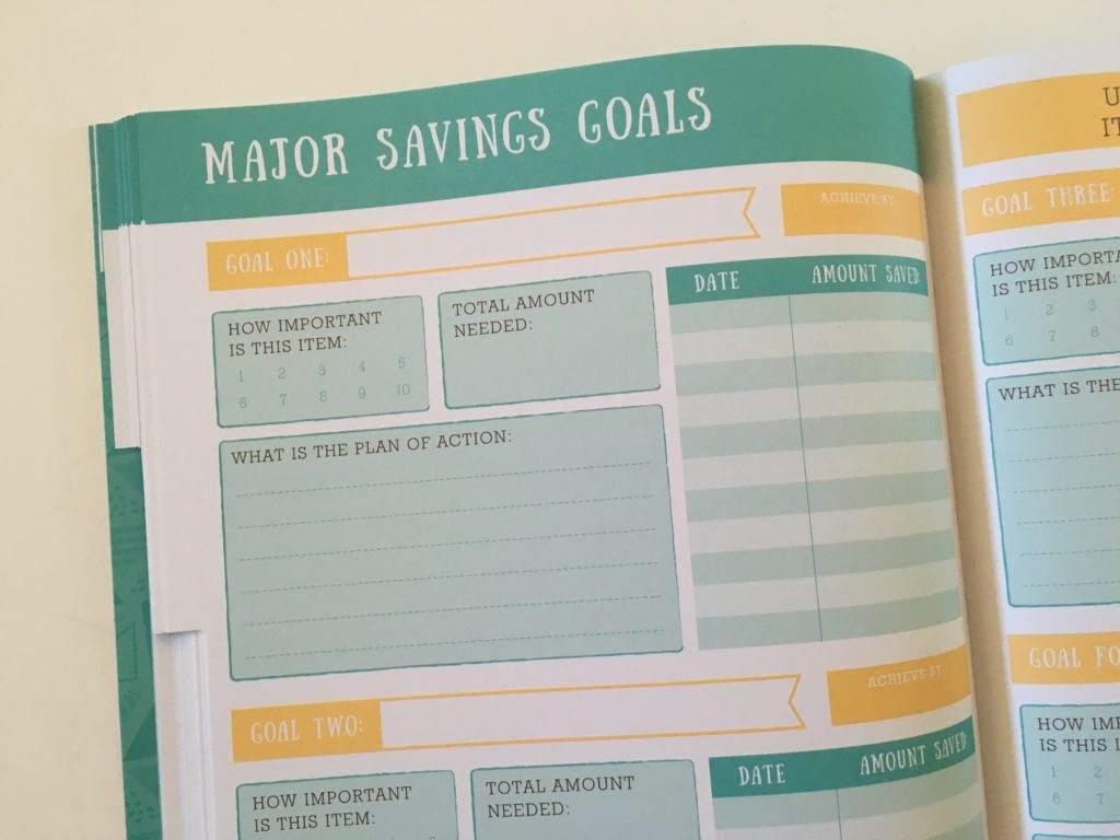 otto budget life planner monthly goals savings financial planner cheap affordable australia money management