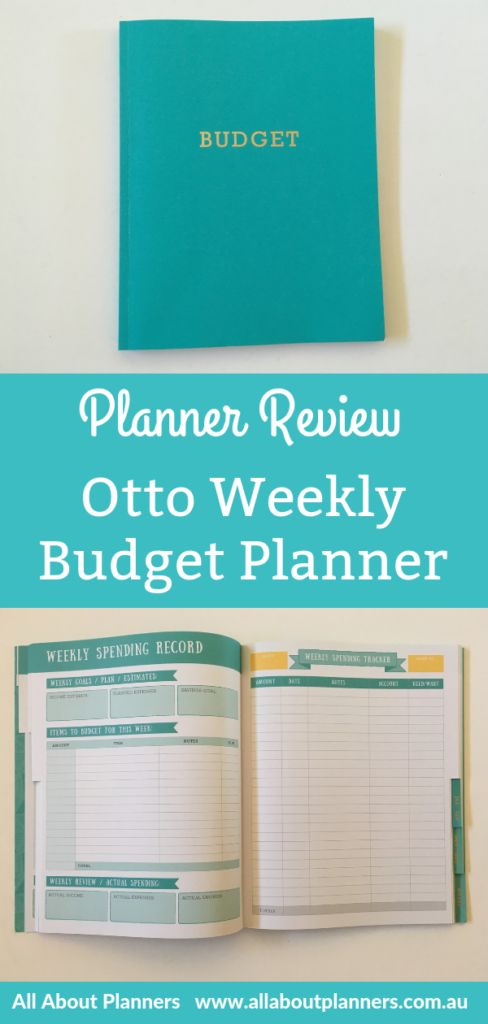 """otto budgetI purchased quite a few Agendio planners in a recent haul, one of which was a custom, personalised day to a page planner. Quick facts Size: 8"""" wide x 10"""" high Softcover Glue binding 12 Month duration Undated - start using anytime Weekly budget 4 budget goals per quarter Annual bill checklist Annual financial goals Tabs Colorful inside pages Price: $19.50 AUD Let's take a closer look! To enlarge the screen of the video, click the square icon in the bottom right hand corner of the video (it will say 'full screen' when you hover your mouse over the icon). Subscribe to my YouTube channel for more planner videos! Mentioned in the video: Otto Planner reviews Otto Business Planner Otto Goals Planner Otto Wellbeing Planner More budget planners reviews Recollections Budget Planner Review Carpe Diem Budget Planner Review Happy Planner Budget Edition Review The Cover I much prefer cardstock covers with a separate clear plastic protective cover over a laminated cover - they are much more sturdier. otto life planner budget book review pros and cons video flipthroughotto life planner budget book review pros and cons video flipthrough blue bound lightweight Approx 1cm thick Budgeting At the front of the planner are some annual overview pages including: Financial goals Budget Bill tracker otto budget planner financial goals review otto budget planner australia review otto budget planner review pros and cons video walkhrough budget planner australia otto officeworks aqua gold foil income expenses tracker goals bills otto budget planner australian family budgeting monthly bill tracker annual overview recurring expenses otto budget planner paid bills checklist Monthly Calendar This planner does not include any monthly planning or budgeting pages. Unlike the other Otto planners, this one has decent line spacing (approx 0.25') which is about double the line spacing of their coil bound planners (I reviewed one here). Weekly Budgeting Behind each tab (organised by quarter) are """