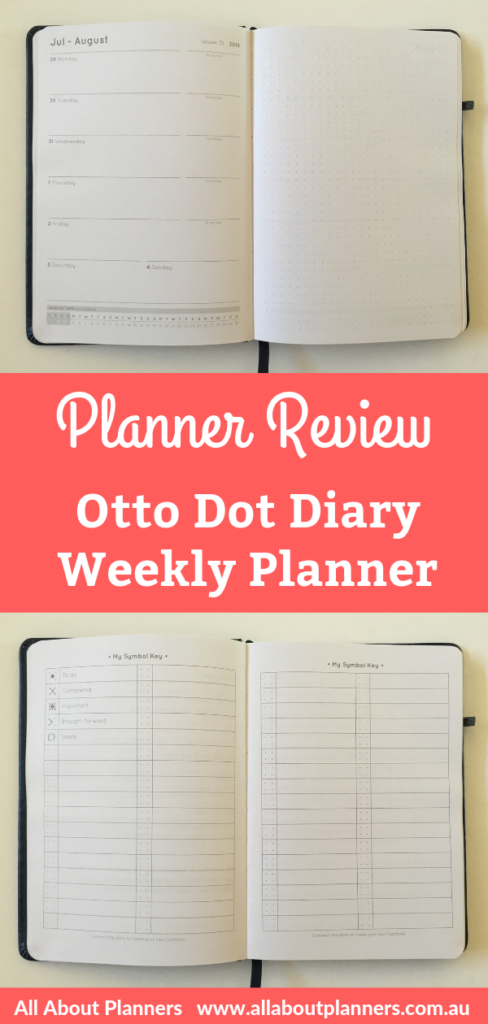 otto dot diary weekly planner review bullet journal cross with traditional planner horizontal unlined australia cheap officework