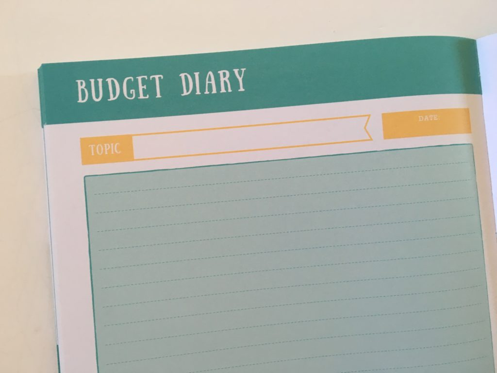 otto life planner budget diary planner