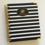 Peacock Paper Essentials Horizontal Weekly Planner