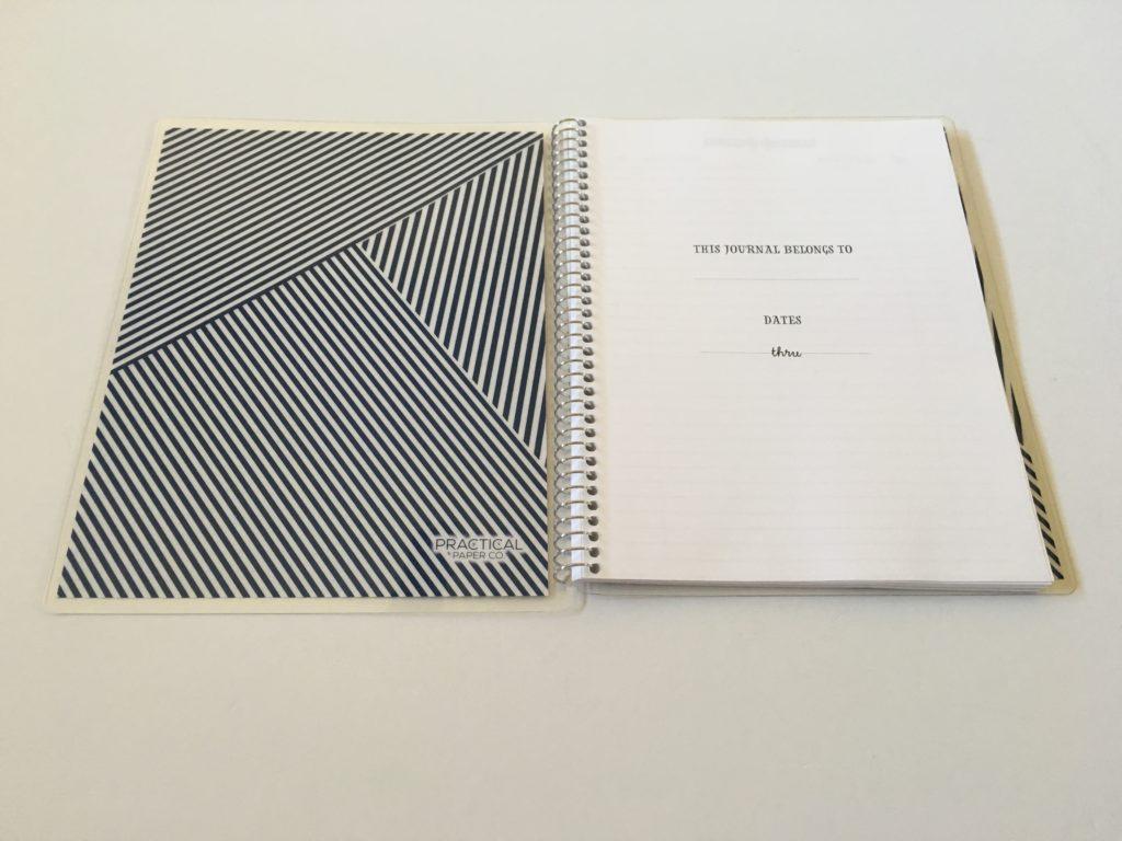 practical paper co dot grid notebook custom personalised dot grid