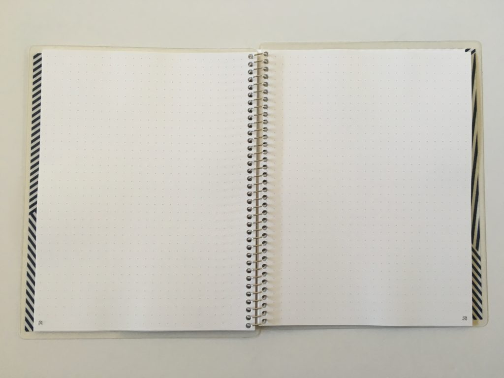 practical paper co dot grid personalised notebook pros and cons video review