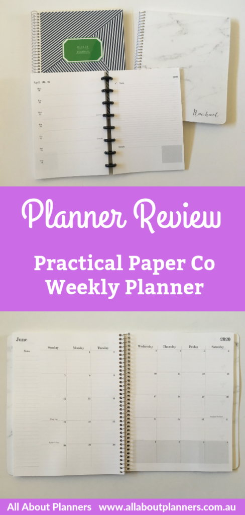 practical paper co weekly planner review horizontal 1 page weekly lined notes and checklist simple minimalist