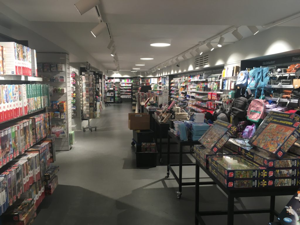 arnold busck stationery shopping copenhagen planner supplies bookstore