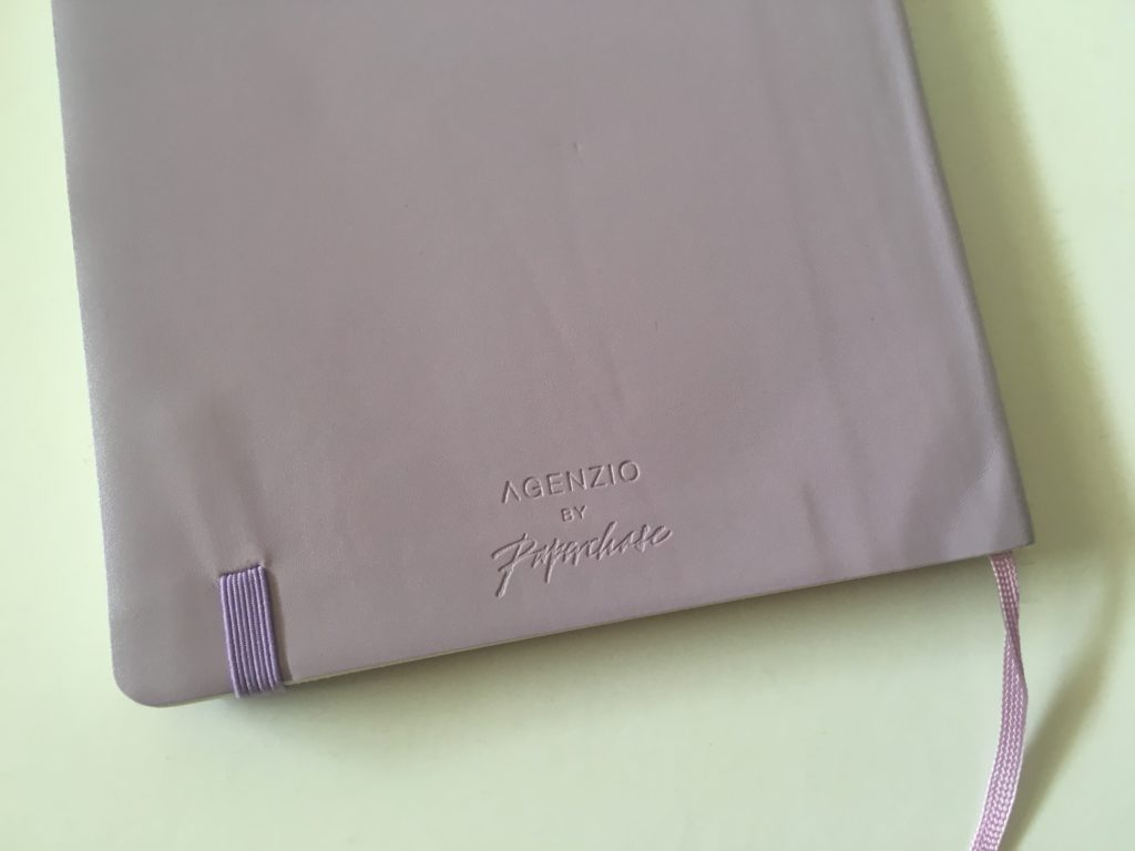 agenzio dot grid notebook review lavendar softcover pen testing pros and cons video flipthrough paperchase