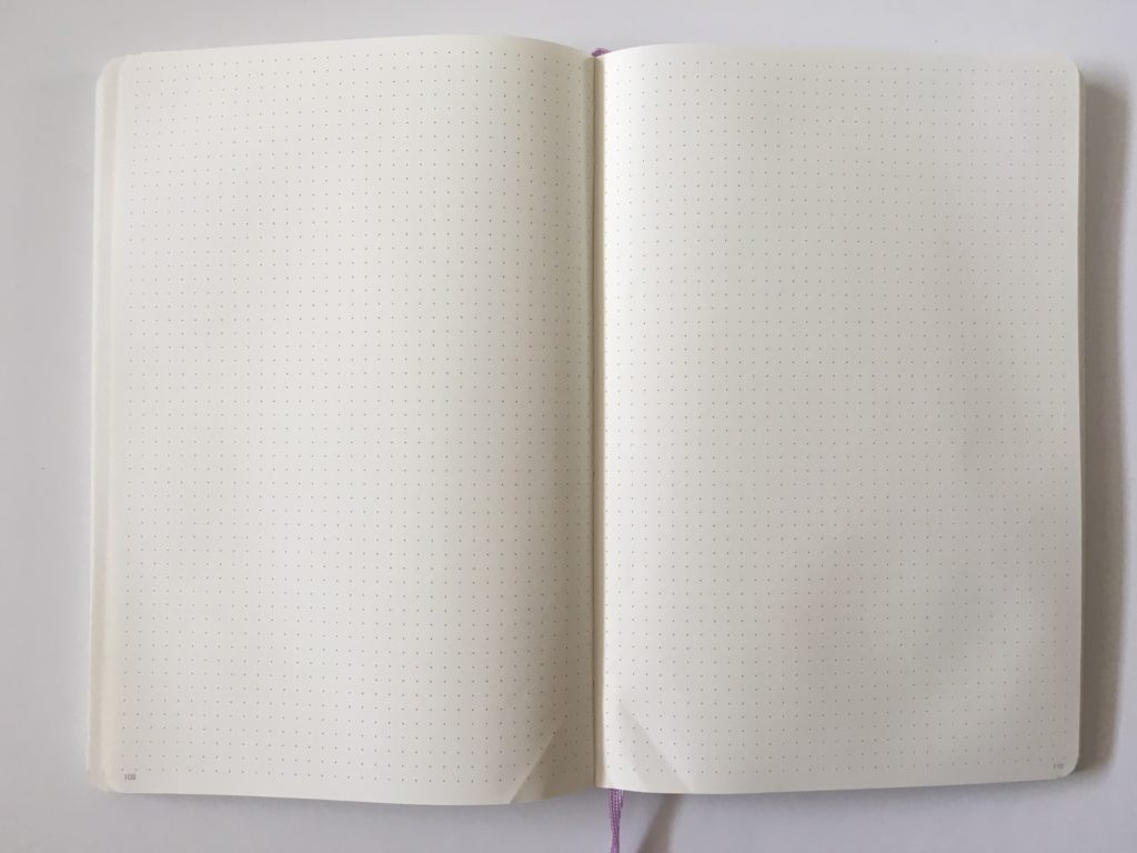 agenzio dot grid notebook softcover yellow pages 5mm spacing