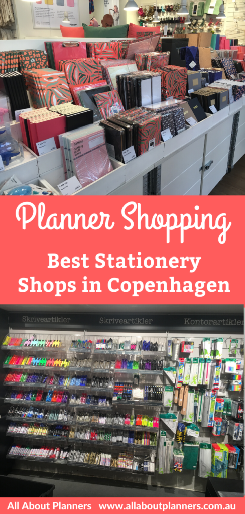 planner shopping in copenhagen denmark best places for planner supplies pens stationery notebook highlighter stickers