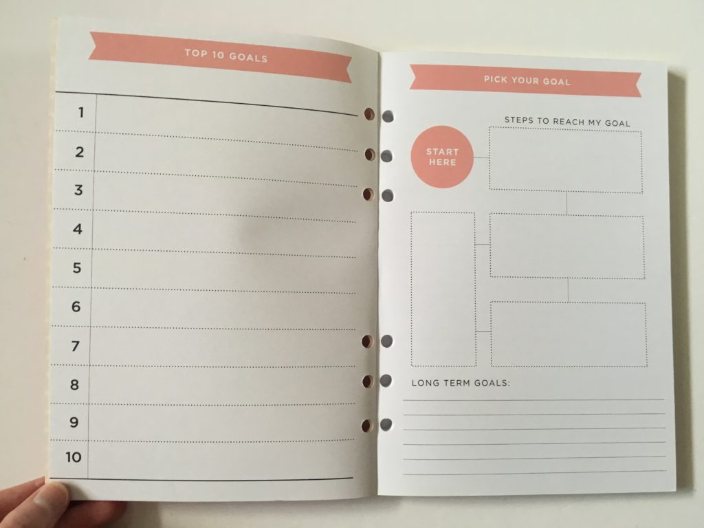recollections creative year journal notebooks review video pros and cons goal planning booklet