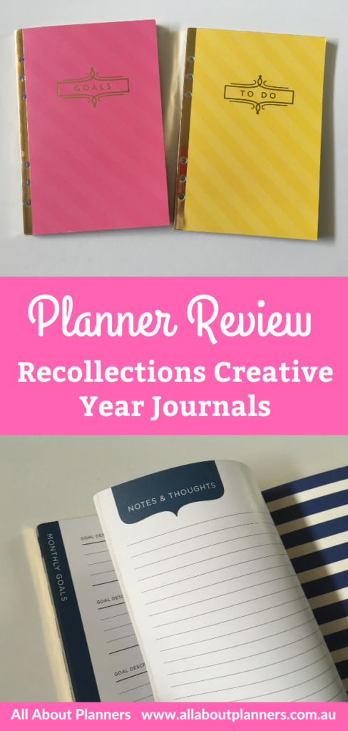 recollections creative year journals review pros and cons video flipthrough alternative to traditonal planner