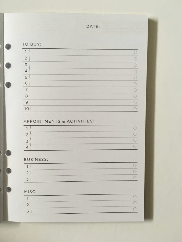 recollections to do list book pros and cons video review checklist mom planner mini ring bound notebook refill