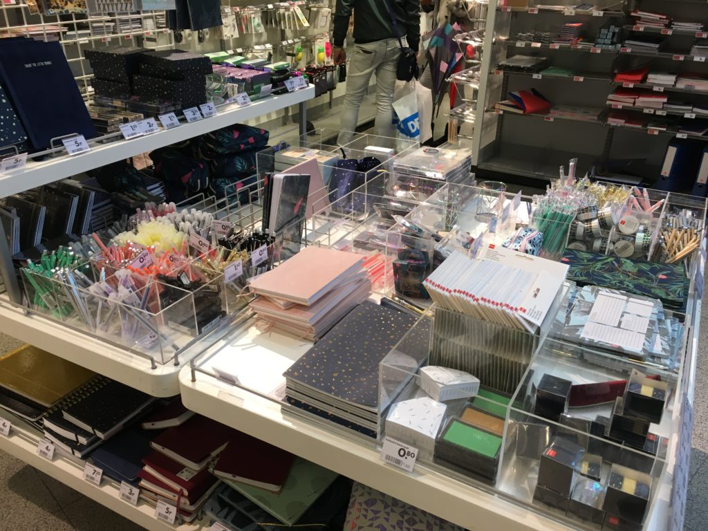 hema stationery shopping planner supplies