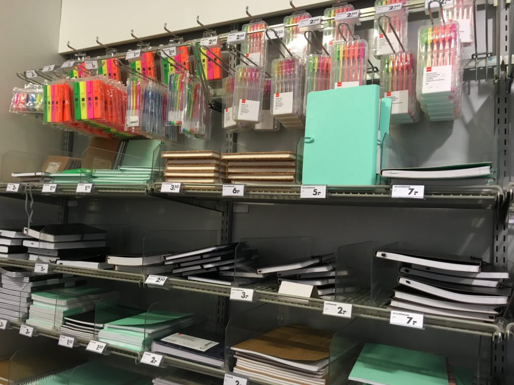 hema stationery shopping europe amsterdam pens planner supplies notebooks