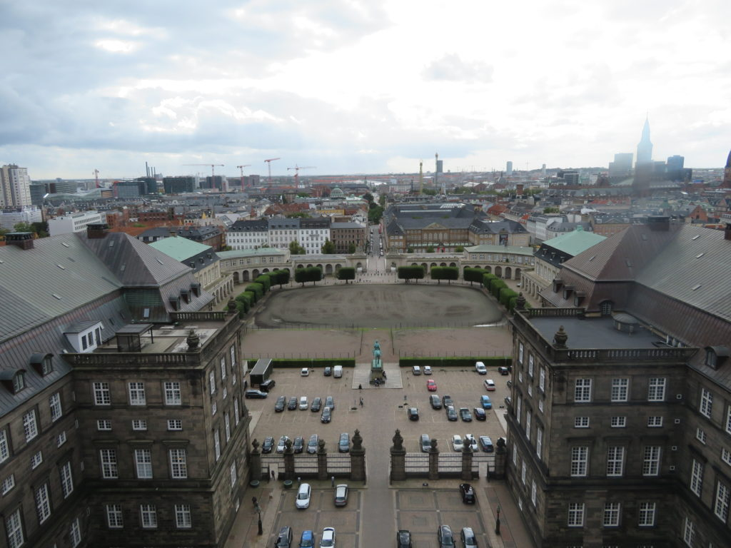 christiansborg palace view tower free and paid viewpoints lookouts copenhagen