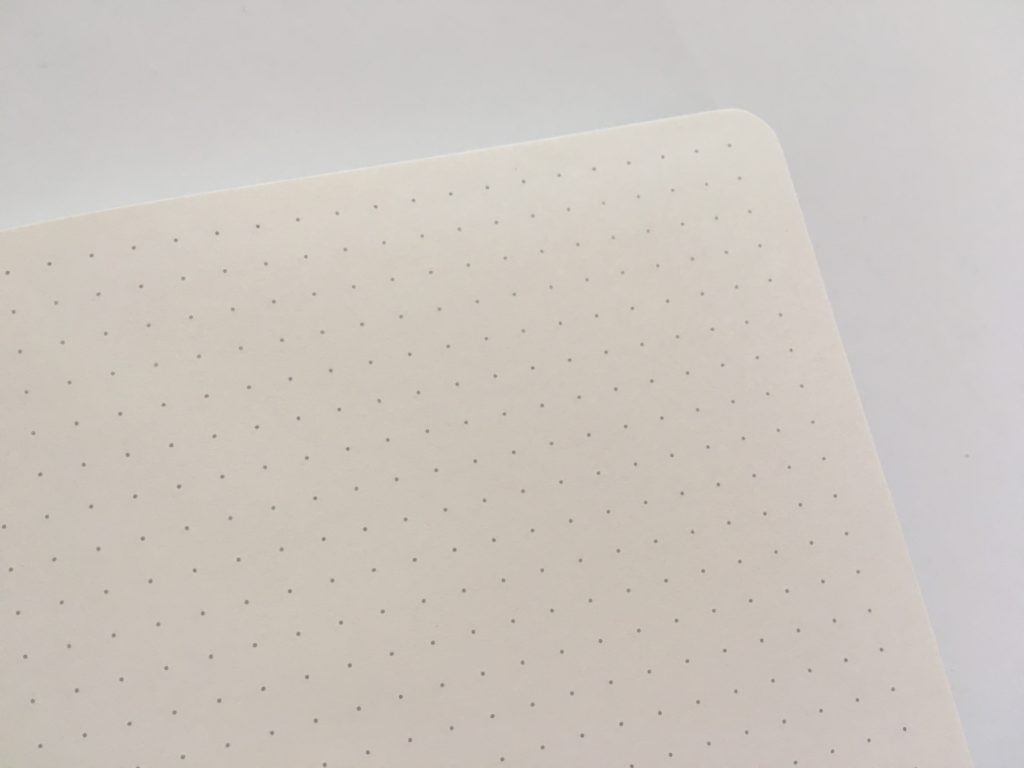 artfan dot grid notebook