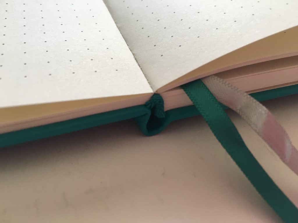 artfan dot grid notebook lay flat binding 5mm spacing ivory paper