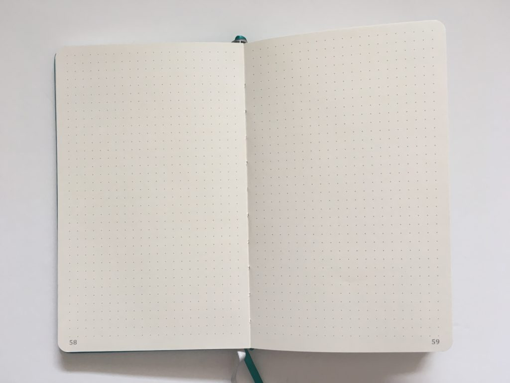 artfan dot grid notebook review pros and cons pen testing