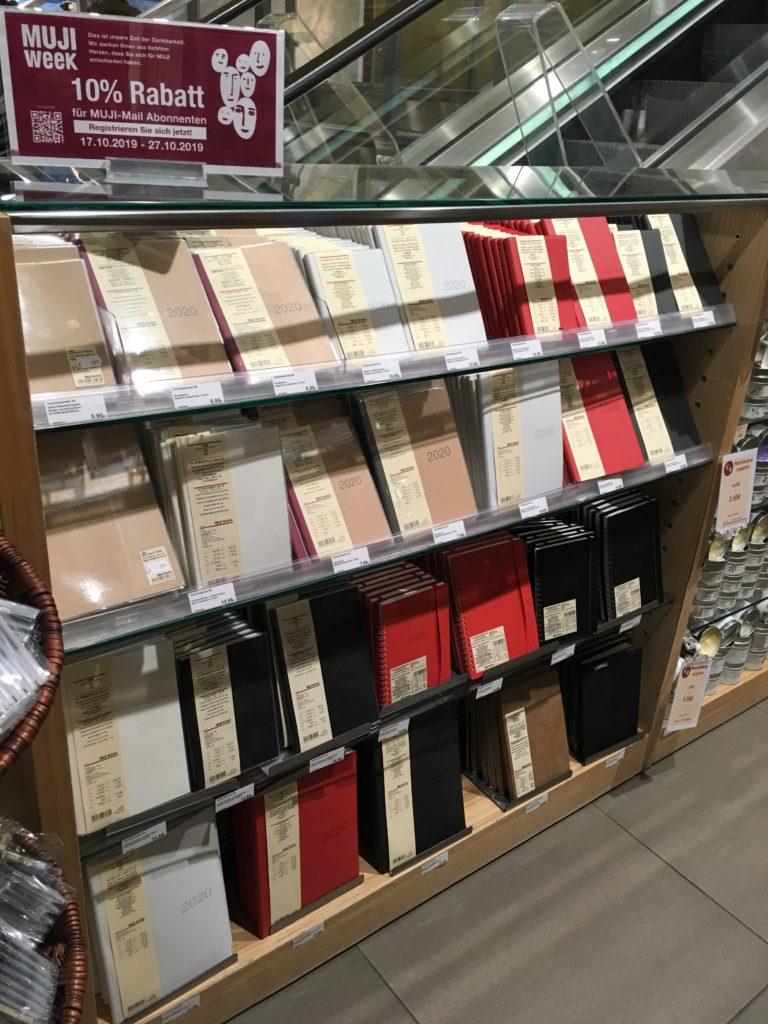 frankfurt muji store weekly planners best stationery shops in germany
