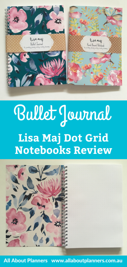 lisa maj dot grid notebook review bullet journal australia bright white paper pros and cons pen testing aussie