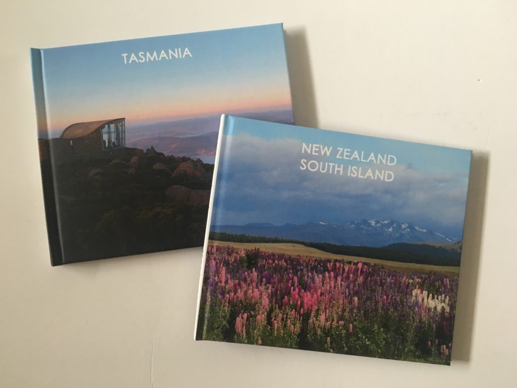 making a photobook with blurb travel