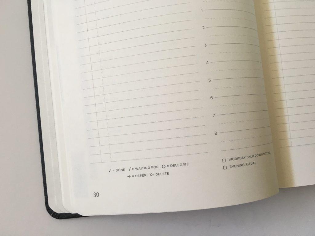 michael hyatt daily planner 2 days per day spread
