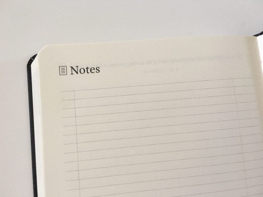 michael hyatt planner review lined notes pages gender neutral planner