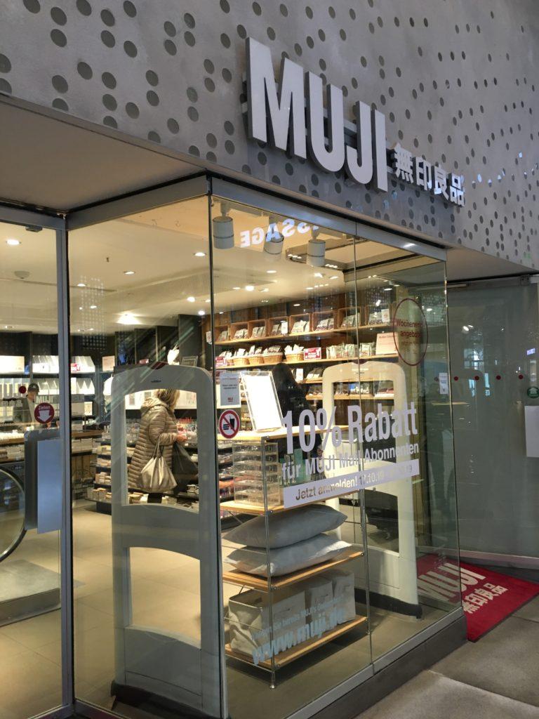 muji frankfurt stationery shopping planner supplies