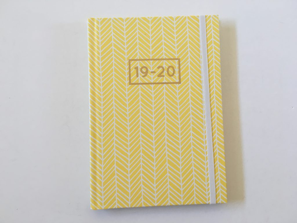 officeworks otto diary weekly planner horizontal monday week start lined minimalist cheap affordable simple layout australia