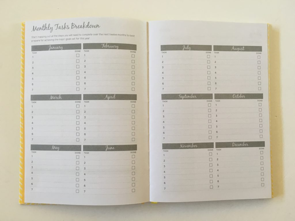 otto weekly planner review monthly tasks breakdown