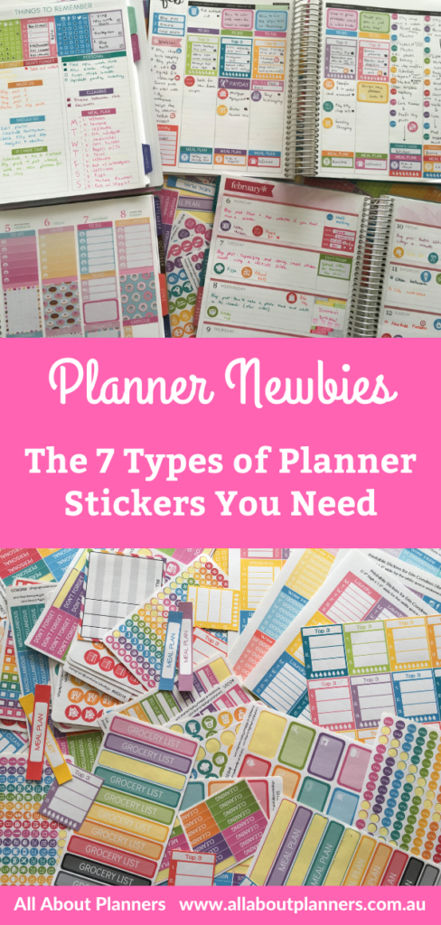 planner newbies sticker essentials planning supplies best favorite tips recommendations all about planners functional spreads