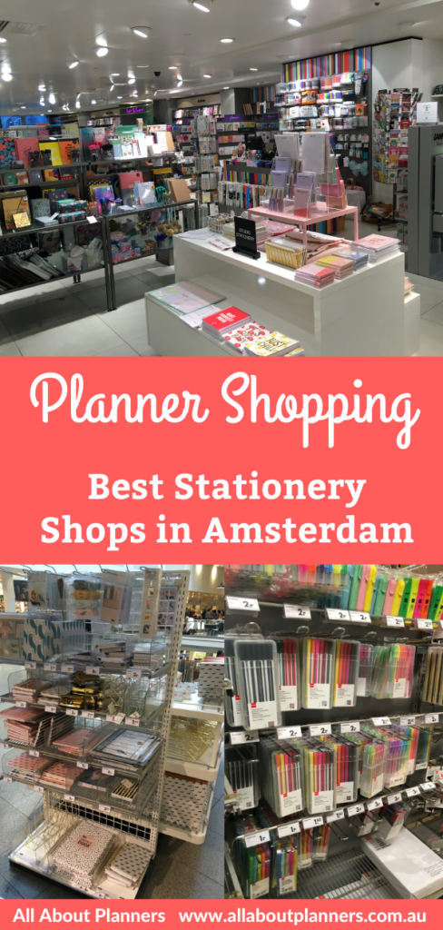planner shopping stationery pens highlighters amsterdam netherlands paperchase europe stationery haul bullet journal dot grid