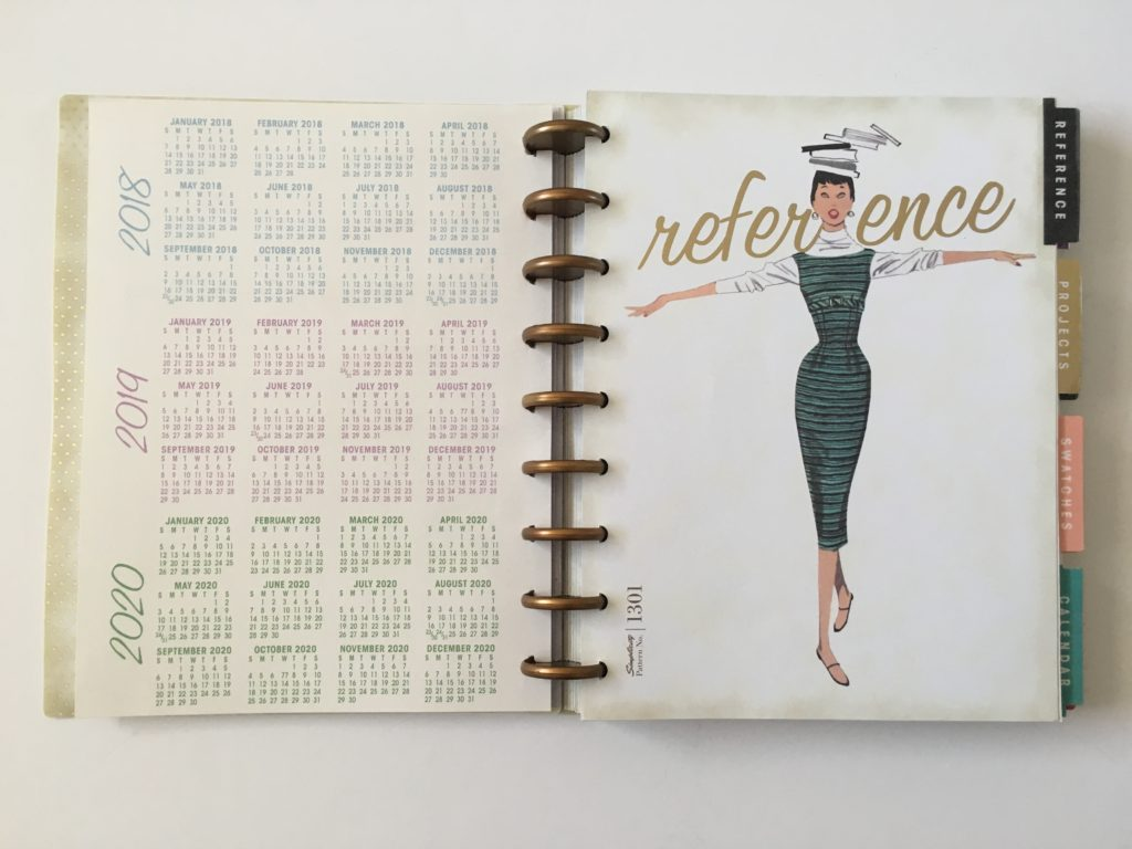 simplicity discbound weekly planner vintage colorful monday week start horizontal lined 2 page monthly calendar video review dates at a glance