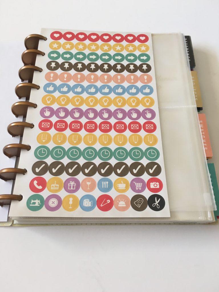 simplicity planner review washi tape functional rainbow stickers