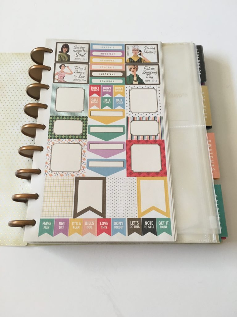 simplicity planner review washi tape functional rainbow stickers checklist