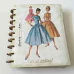 Simplicity Vintage Weekly Planner Review (for Quilters, Sewing, Fashion etc.) including video flipthrough
