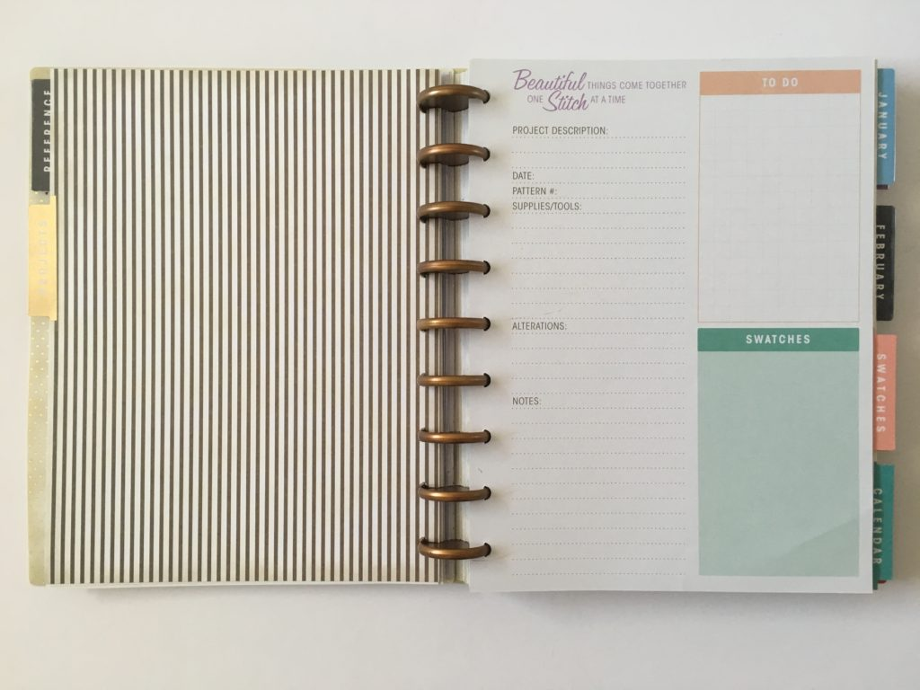 simplicity weekly planner review vintage monthly planning events birthdays to do video