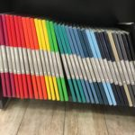 Bullet Journal notebooks with colorful covers (not black!)