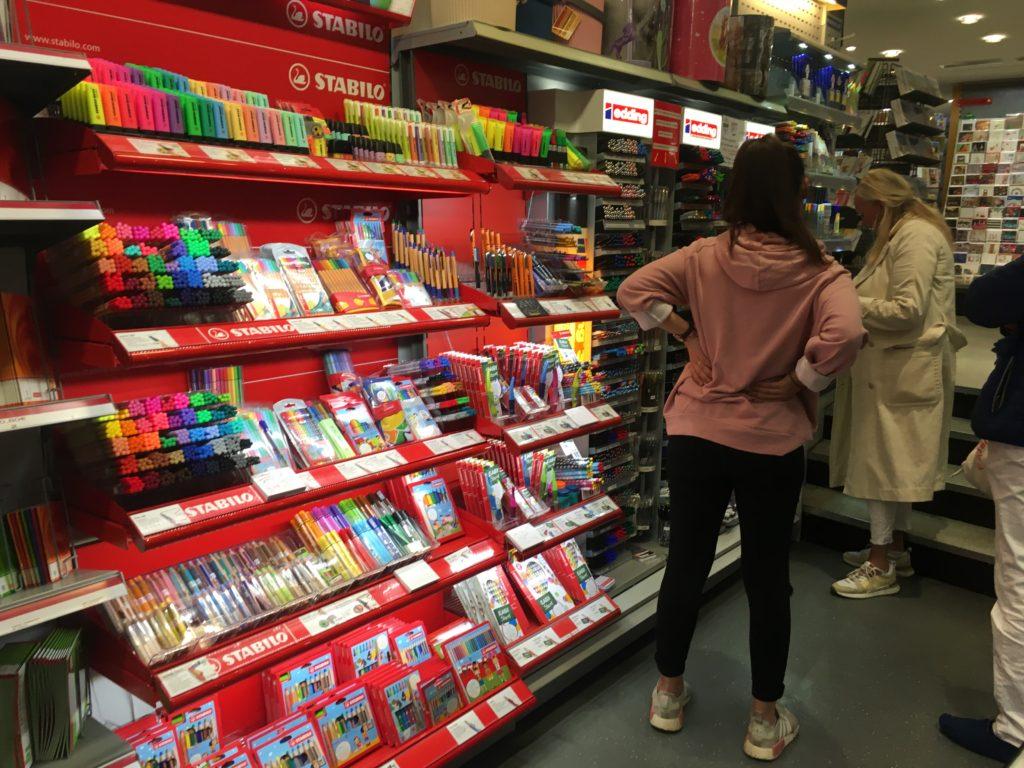 stationery shopping papier kramer shop frankfurt planner supplies