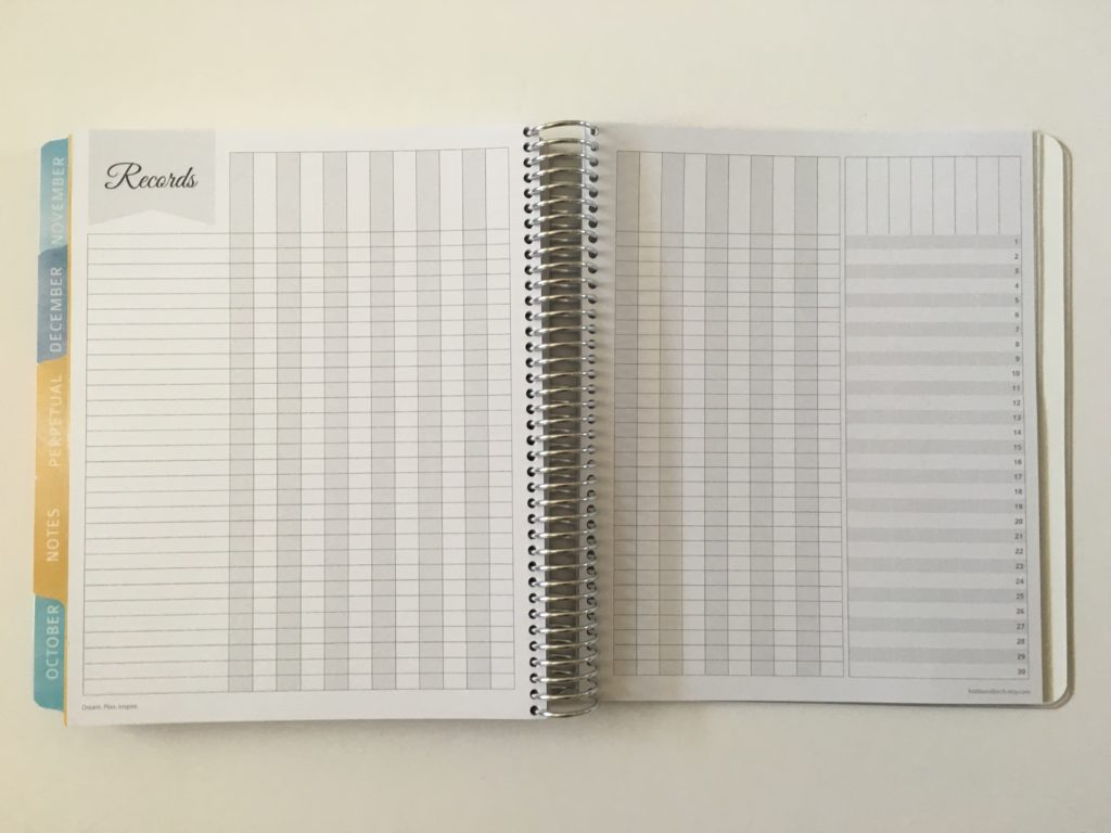 whistle and birch planner review australia teacher attendance record grading tracker blogging workflow