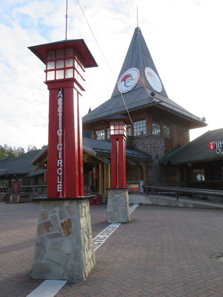 santa claus village rovaniemi lapland finland guide how to get there tips September autumn